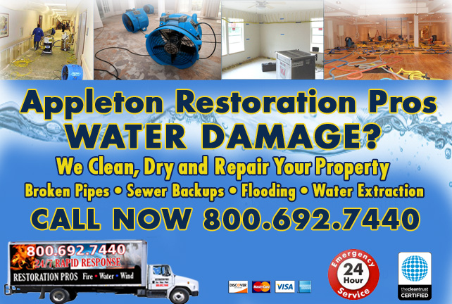 appleton water damage restoration