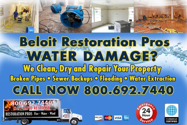 Beloit water damage restoration