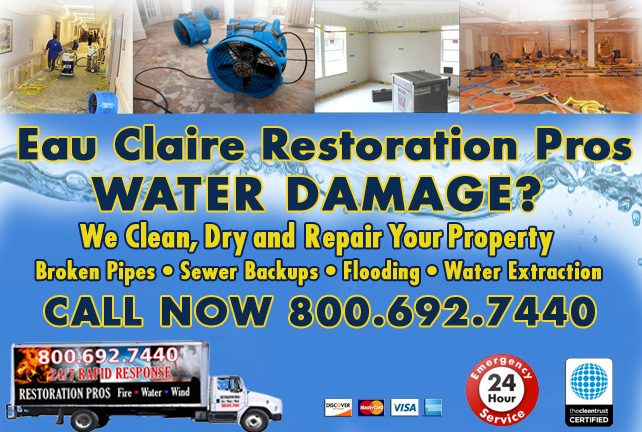 Eau Claire water damage restoration