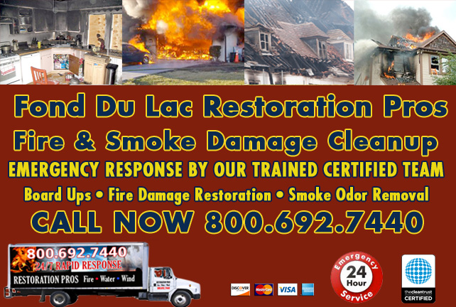 Fond Du Lac fire damage repair
