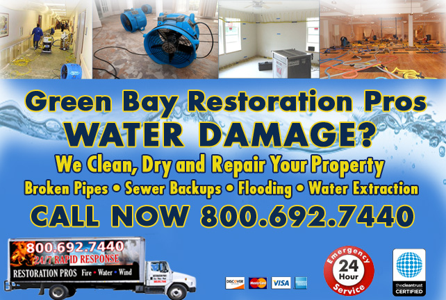 Green Bay water damage restoration