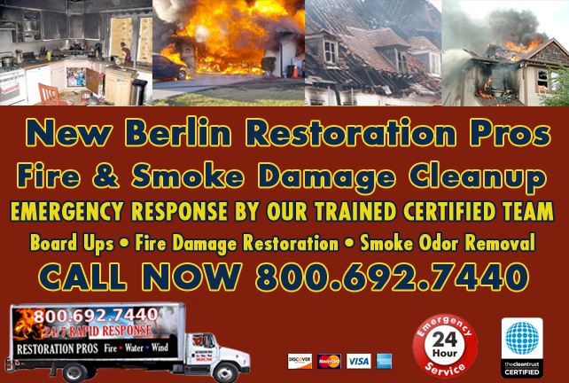 New Berlin fire damage repair