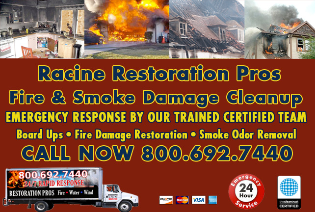 Racine fire damage repair