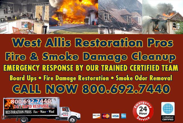 west allis fire damage repair
